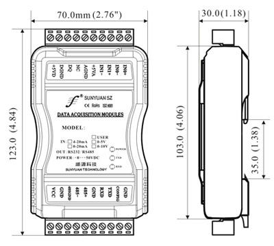 �囟�鞲衅鞫嗦沸盘��z�y控制模�K隔�x放大器尺寸