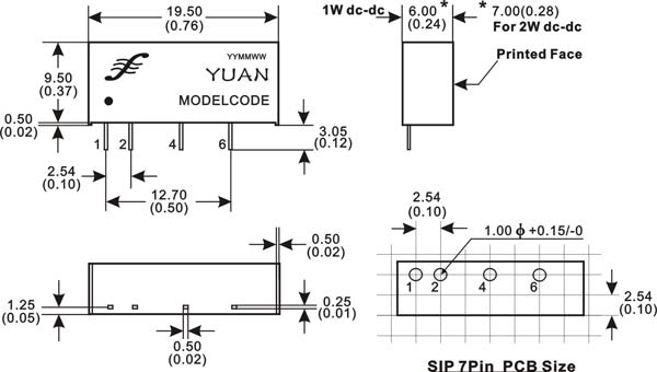 地线干扰隔离模块电源(定电压输入输出型)