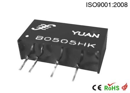 两线制回路供电检测仪表专用隔离电源.DC-DC电源模块:BHK系列.