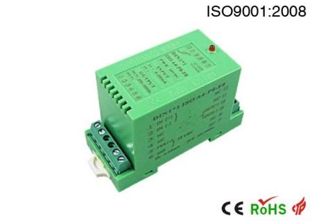比例调节控制模拟量隔离放大器.伺服驱动大电流输出型隔离放大器:DIN ISO系列.