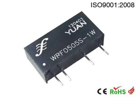 电力仪器仪表RS485接口抗浪涌、防静电、高隔离模块电源.DC-DC电源模块:WRFH系列.