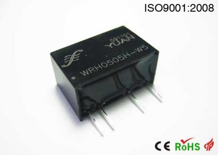 电能表专用6KVAC高隔离防静电DC/DC模块电源.DC-DC电源模块:WRH系列.