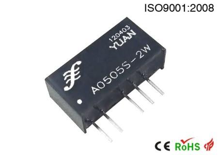 双输出定电压输入型1KVAC隔离电源模块.DC-DC模块电源:A S/D系列.