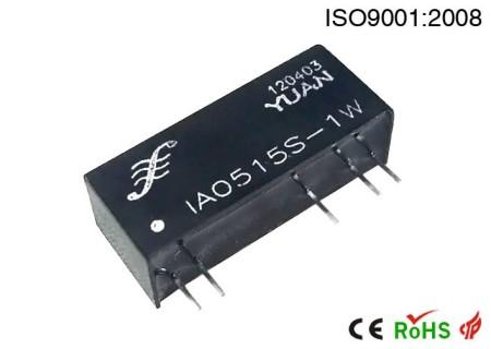 定电压输入隔离正负稳压双输出DC电源.DC-DC电源模块:IA系列.