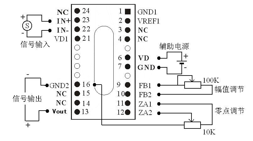 仪器仪表网 供应 集成电路 模拟微小信号隔离放大器ic iso mv系列  &n