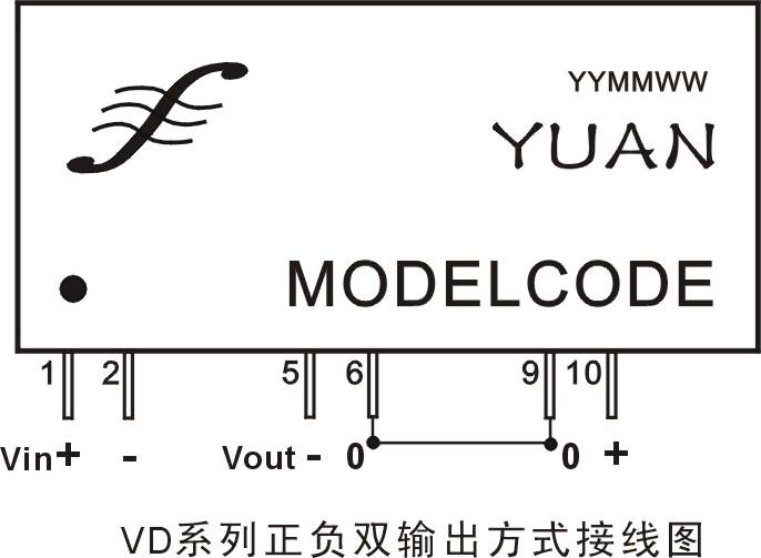 双回路隔离稳压输出模块电源(地线隔离分布电源)