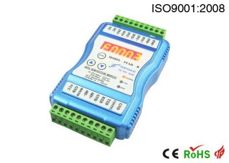 多通道显示控制数据采集器.2路/4路,模拟量采集监控数据采集器:SYAD 02B/04B系列
