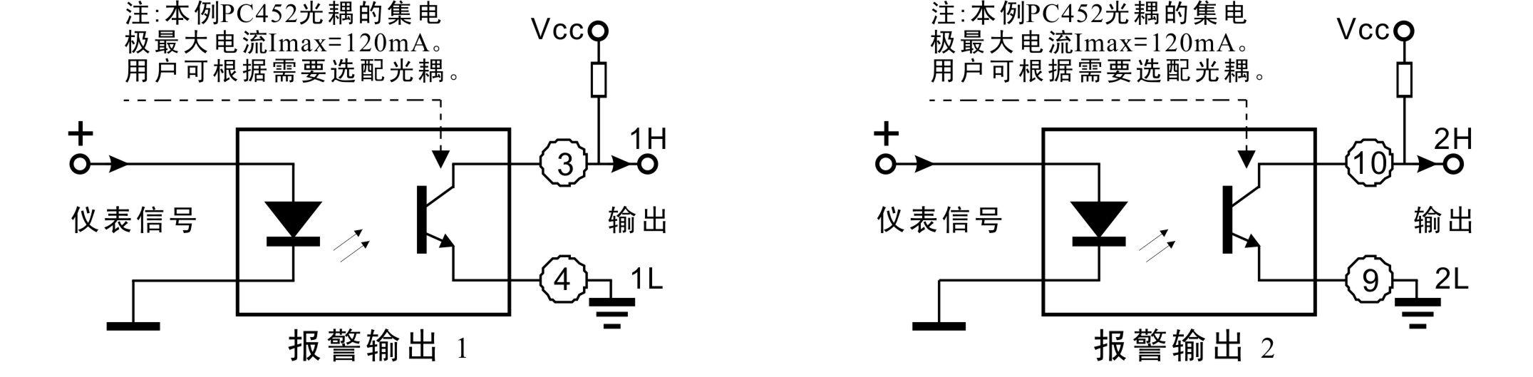 4-20ma电流环显示控制隔离器:din 1x1 iso 4-20ma(led1).