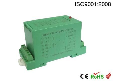 多回路隔离型DC/DC分布电源转换器:DIN 1X4 VDH系列.高隔离抗静电,UPS/FCS控制柜/直流屏/智能电表保护控制电源.