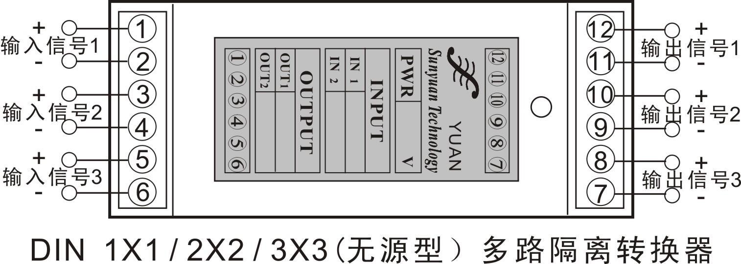 两线制模拟信号隔离器:isos4-20ma系列微型低成本4-20ma电流