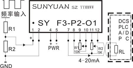 icl7107电流电路图