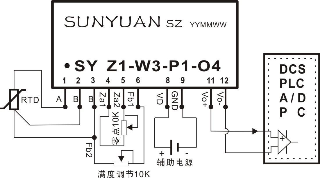 【pt100,cu50热电阻信号两隔离变送器】价格