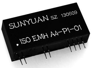 6KV隔离直流(电压/电流)单双向信号隔离放大器:ISO EMH系列.