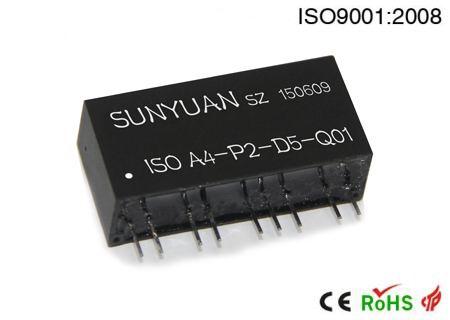 PWM与模拟量隔离转换IC.可相互转换4-20mA与PWM信号的ISO系列产品.