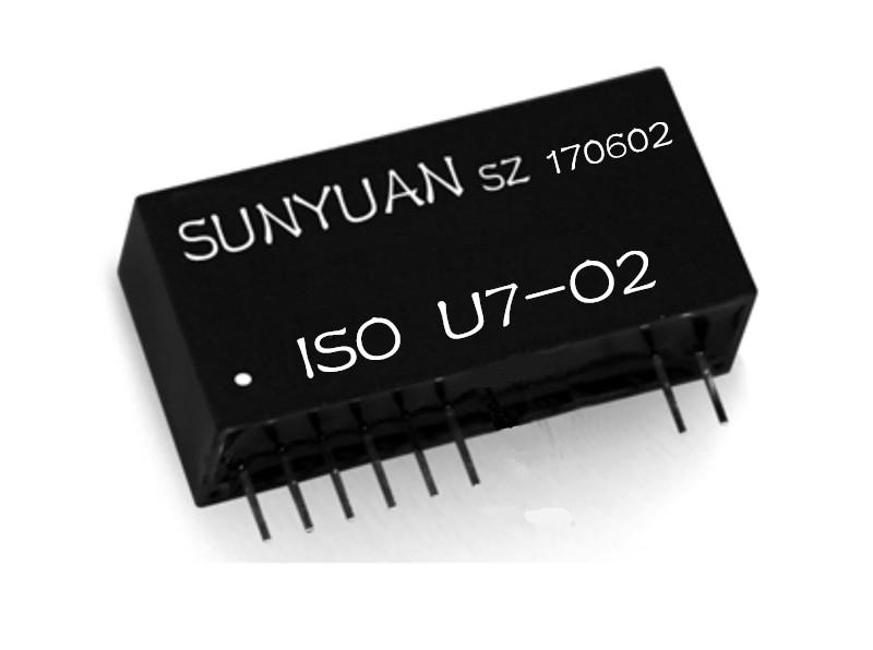 回路馈电模拟信号隔离放大器IC.两线无源回路馈电型模拟信号隔离变送器:ISO U/A/R-O系列.